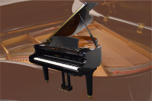 "Remington 5'3"" mdl RG-157 baby grand w/bench"