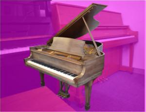 "Steinway 5'7"" mdl M grand piano w/bench"